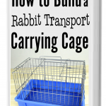 Book Cover - Rabbit Transport Cage