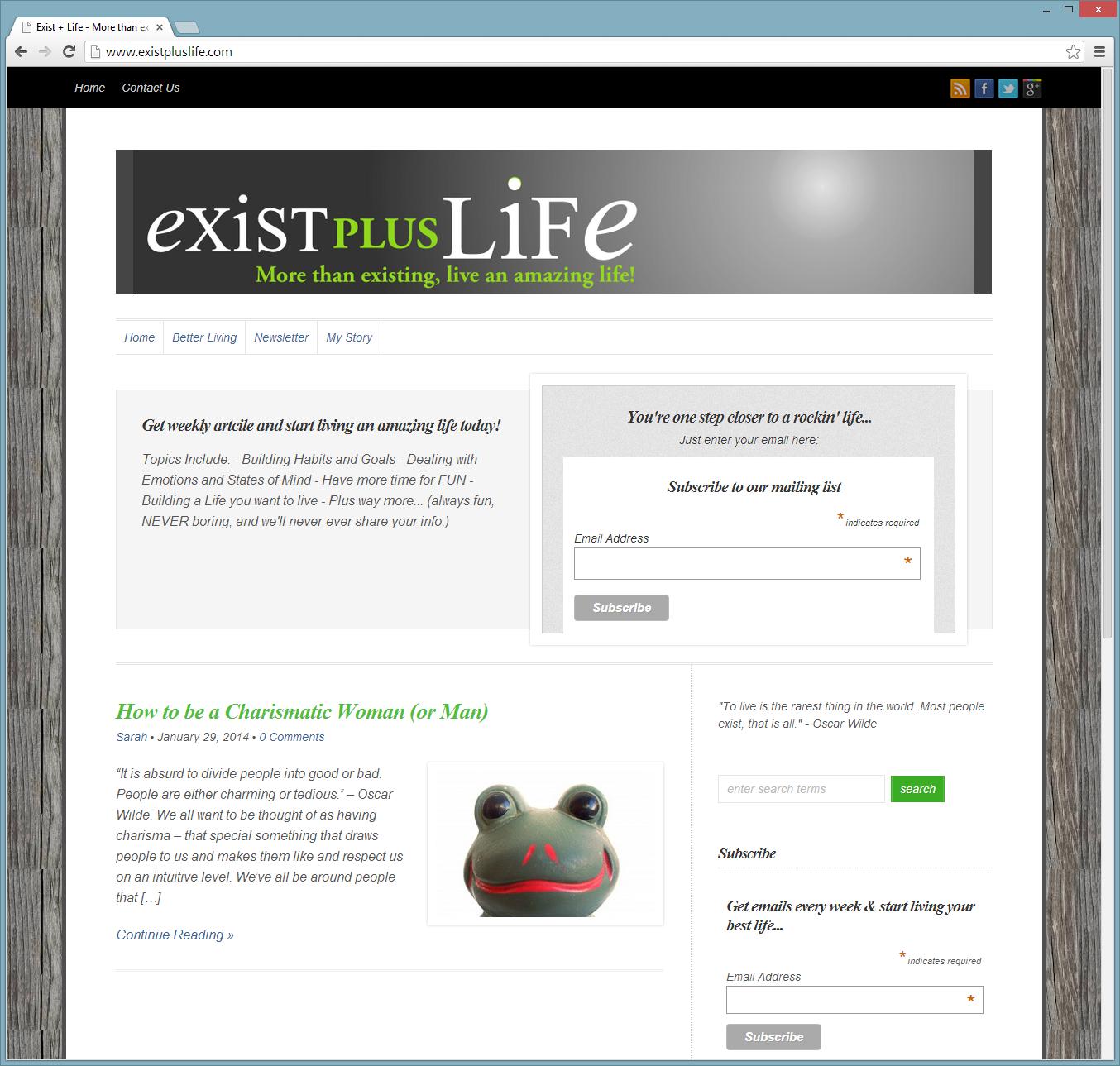 ExistPlusLife