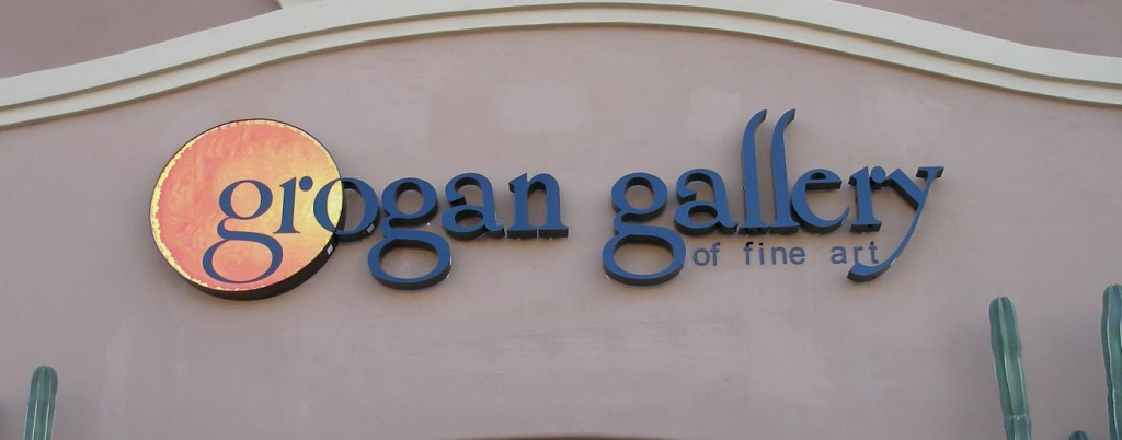 G Gallery Building Sign